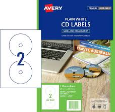 Avery Cd Labels 32 50 Cd Dvd Laser Label White Avery 960101 L7676 Pack