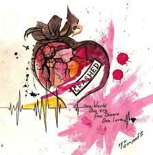 фото эскизы сердце сердце в стиле акварель графика цветная