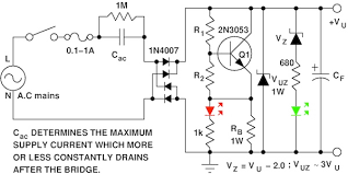 ac power your circuit out a transformer edn figure 1 this step down converter drops ac mains voltage across cac to produce a lower dc voltage vuz is optional and is related to safety issues choose