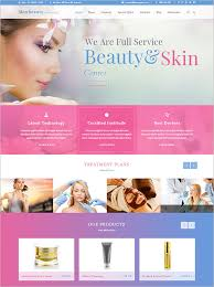 dazzling makeup artists wordpress template 59
