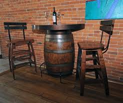 wood barrel furniture. Pin By Robert Underwood On Tables Pinterest Barrels Bar And Awesome Wine Barrel Table With Regard To 15 | Lofihistyle.com Plans. Wood Furniture