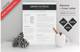 Graphic Resume Templates Beauteous 48 MS Word Resume Templates With THE Professional Look