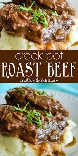 best ever crock pot roast beef makes
