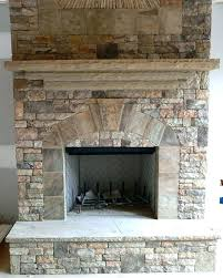how to put stone over brick fireplace put stone over old brick fireplace