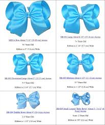 Smocked Auctions Size Chart Hair Bow Length Chart Lajoshrich Com