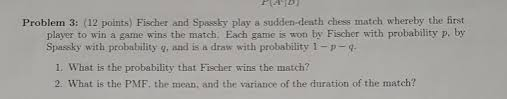 Q And A Game Solved Fischer And Spassky Play A Sudden Death Chess Matc