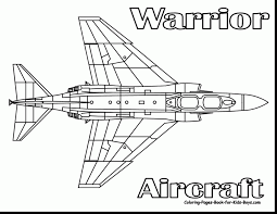 wonderful airplane coloring pages with jet coloring pages ...