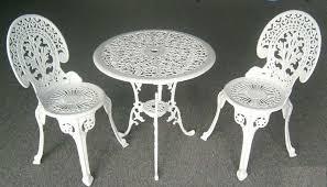 white wrought iron furniture. white wrought iron patio furniture sets image of design ideas