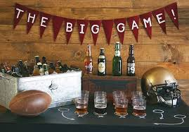 Super Bowl Party Decorating Ideas 60 Stylish Super Bowl Party Decorating Ideas Revel and Glitter 43