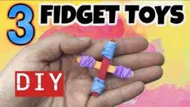 3 easy diy fidget toys new fidget toys for how to make stim toys from household items
