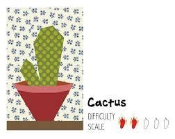 33 best cactus quilt ideas images on Pinterest   Textiles, Cactus ... & Cactus paper pieced quilt block Adamdwight.com