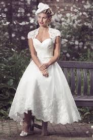 brighton belle aubrey vintage 1950s tea length short wedding dress