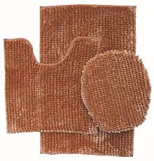 3 piece luxurious er chenille bath rug large bath mat 19 5 x 31