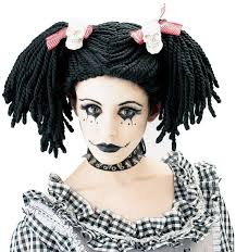 gothic rag doll makeup photo 1