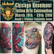 Tattoo Convention Rosemont 2016