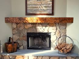 antique wood mantel corner fireplace