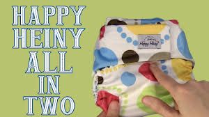 Happy Heiny Tworiffic All In Two Diaper Review Dirty