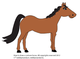 Small Picture web E wandatv How to Draw a Pony or Horse