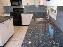 image of popular blue granite countertops