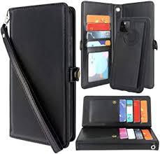 Harryshell Detachable Magnetic 12 <b>Card Slots Wallet Case</b> PU ...