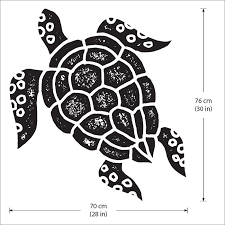 turtle vinyl wall art decal turtle vinyl wall art decal