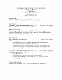 Exercise Science Resume Examples Exercise Science Resume New Character Certificate Template