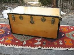 1800 1899 chest trunk coffee table