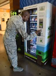 Moving Vending Machines Amazing Partnerships Lead To Healthier Vending Options On Base Tinker Air
