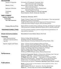 Sample Resume Communication Skills