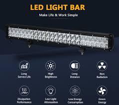 Light Bar 5d Us 29 97 5d 20 22 28 Inch Led Bar Led Work Light Led Light Bar For Off Road 4x4 4wd Atv Suv Driving Motorcycle Car Truck Light In Light Bar Work