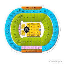 Neyland Stadium Seating Chart For Garth Brooks Concert Neyland Stadium Seating Chart With Rows