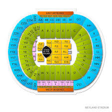 Neyland Stadium Seating Chart With Rows