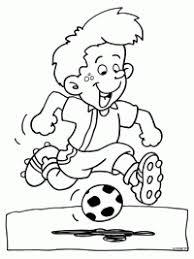 Voetbal Kleurplaten Topkleurplaatnl