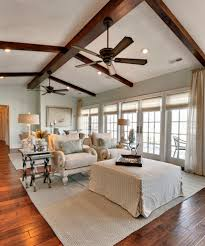 Vaulted Ceiling Living Room Design Vaulted Ceiling Beams With Ceiling Fan Living Room Traditional And