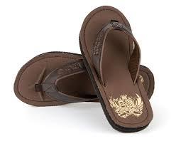 mens boys urban beach sandals faux leather flip