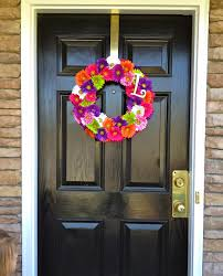 spring wreath for front doorRound Wreaths for Front Door  Gorgeous Wreaths for Front Door