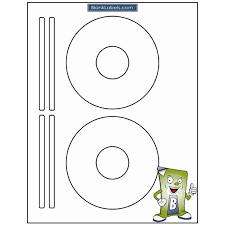 200 Blank Labels Cd Dvd Labels For Avery Software Template