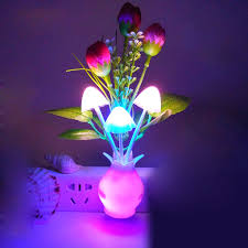 Led Bedroom Lights Decoration Popular Mushroom Led Light Buy Cheap Mushroom Led Light Lots From