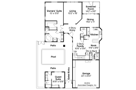 guest house plans. Sweet Idea Mediterranean Guest House Plans 9 On Home