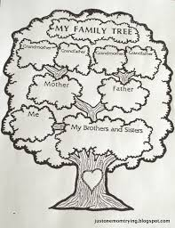 how to draw family tree 2013 just one mom trying