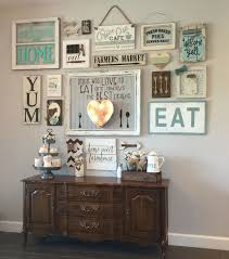 Interesting Kitchen Decorations For Walls My Gallery Wall In Our Colewifey Ideas