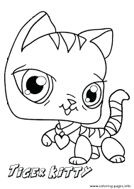 Printable Kitten Coloring Pages Free Printable Kitten Coloring Pages