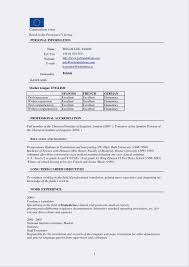 Basic Resume Template Word Templates Free Elegant For Of 2003 Cv