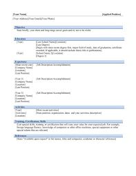 Microsoft Resume Templates 2013 Alluring Ms Word Resume Template 100 For Your Endearing On 27