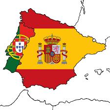 Mappa Spagna - Portogallo