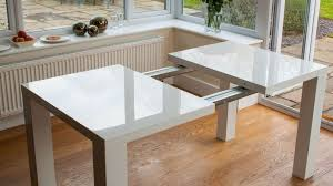 Expandable Glass Dining Room Tables Interior Simple Inspiration