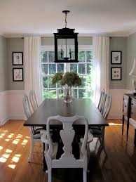 dining room windows. Brilliant Room This Popular Dining Room Is A Little Less Cluttered The Hanging Lantern  Above The Table Great Idea That Enhances Cottagefeel Of Home In Dining Room Windows