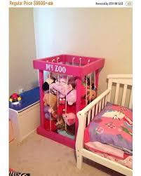 ON SALE stuffed animal storage stuffed animal zoo stuffed animals toy  storage kids room decor toy