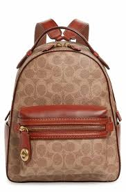 COACH 1941 Signature Canvas Campus 23 Backpack