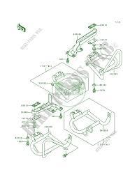 footrests klf400 b2 bayou 400 4x4 1994 400 quad kawasaki motorcycle Automotive Wiring Diagrams at 1994 Klf400b Wiring Diagram
